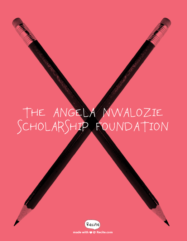 Angela Nwalozie Scholarship Foundation