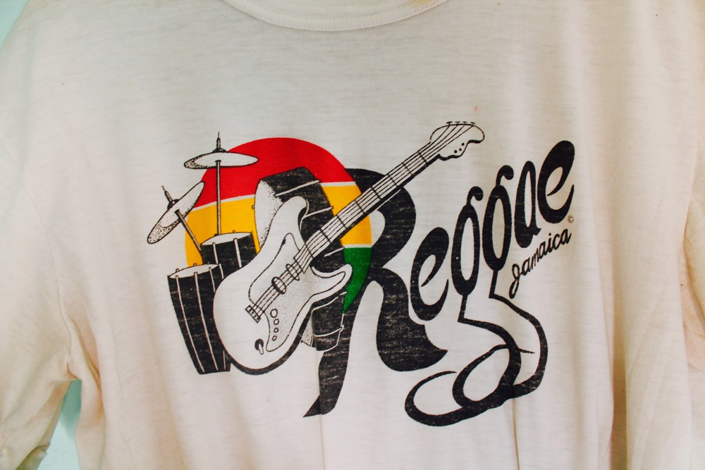 SOLD OUT-Reggae Jamaica Vintage Super Soft Tee $26.00 USD