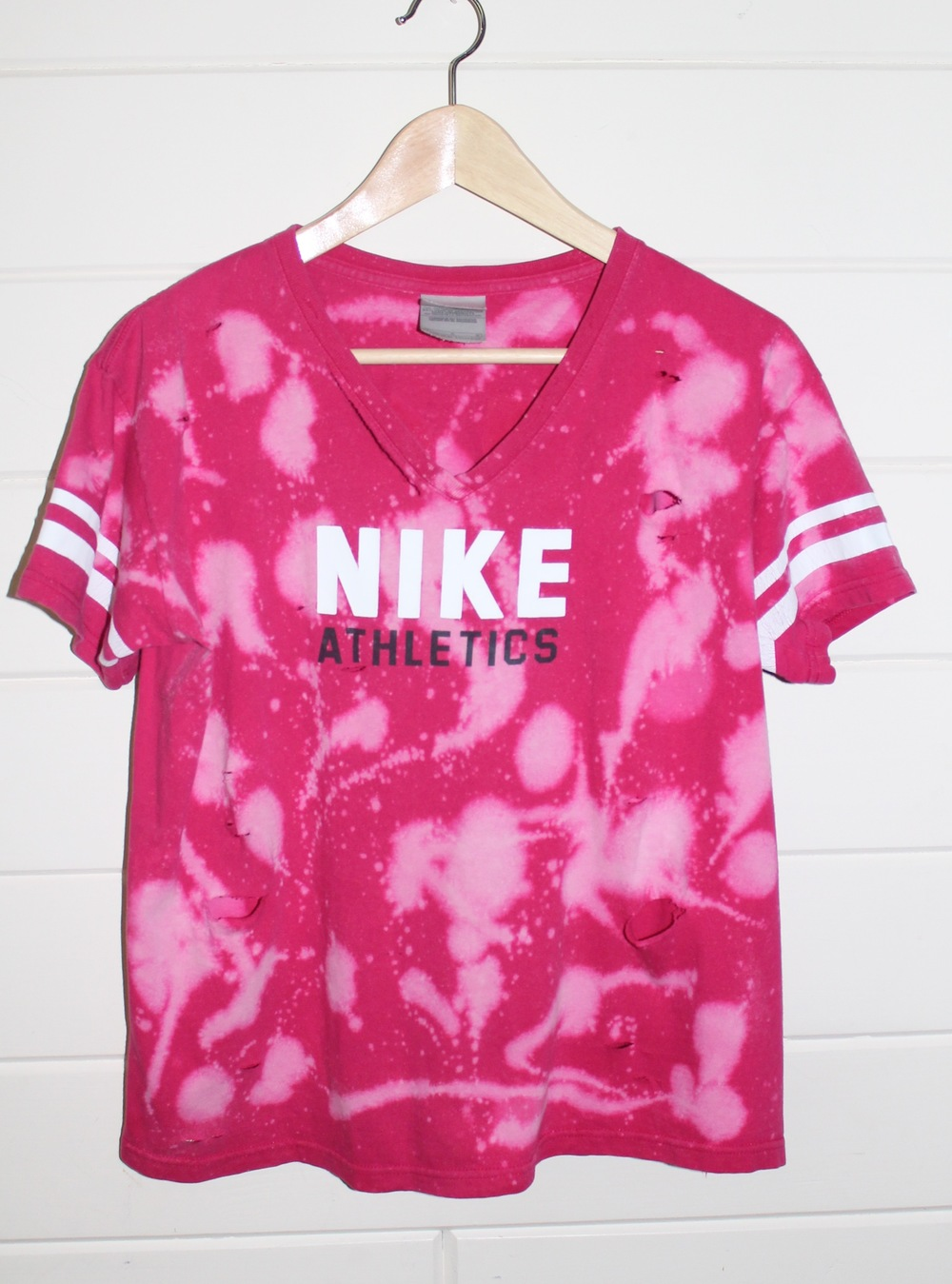 Bleached and Destroyed Nike Tee-SOLD OUT