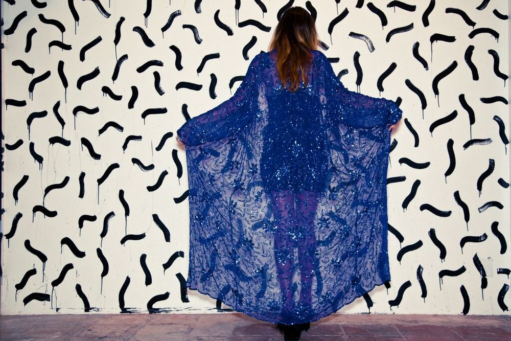 Sequins Cape-SOLD OUT
