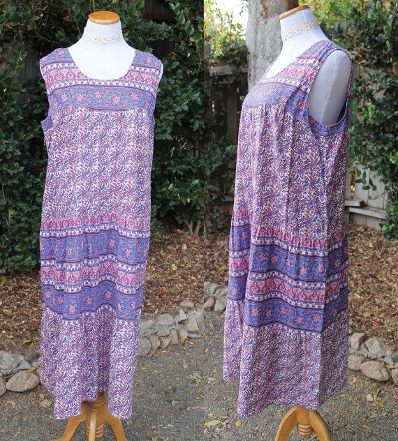 Boho Indian Dress