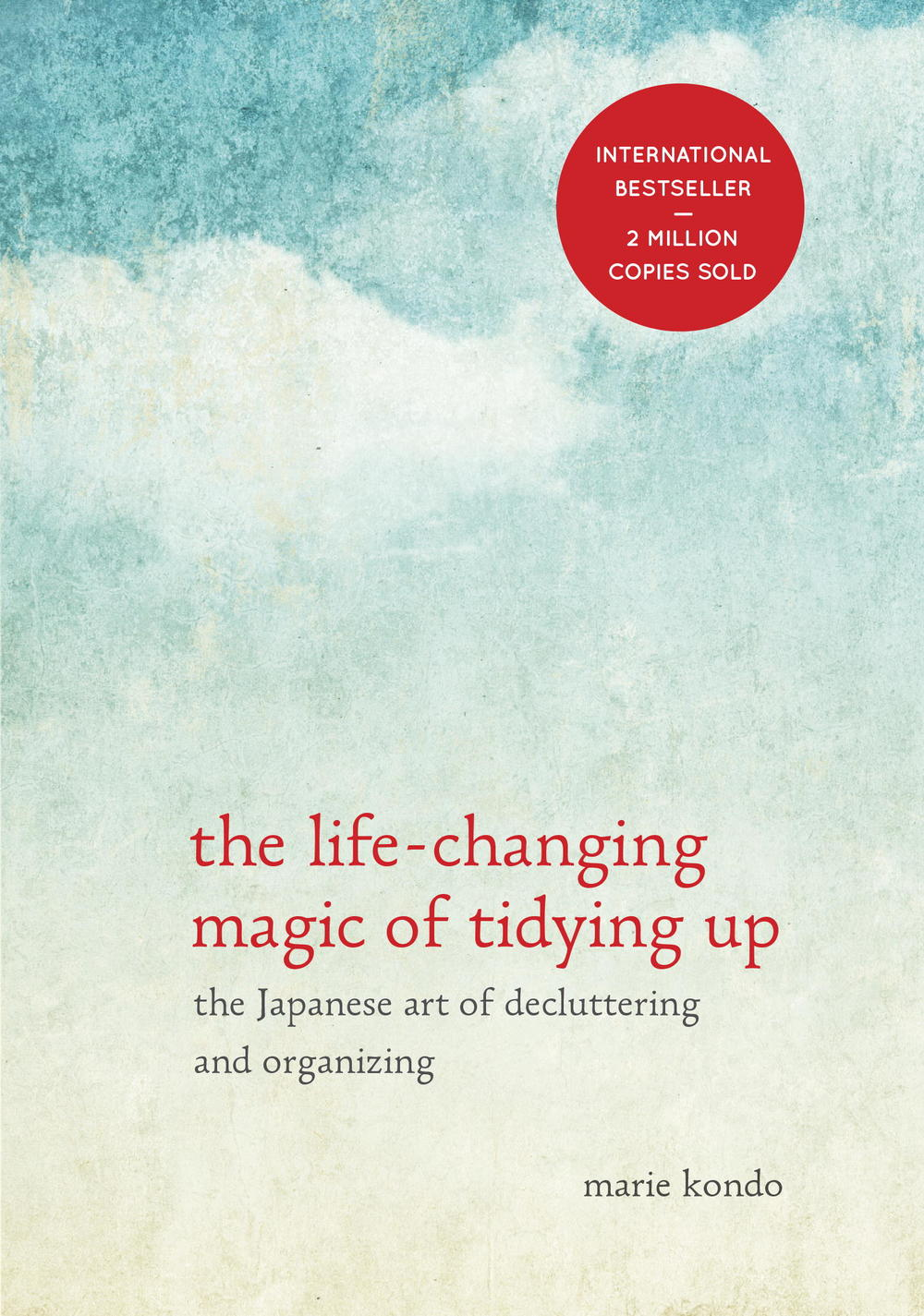 The Art of Tidying Up » By. Marie Kondo  This is a new addition to my library lent to me by a co-worker. It discusses how you can tidy up by cleaning out in one swoop. So far I haven't gotten far enough to begin overhauling my own room, but it is only a matter of time!