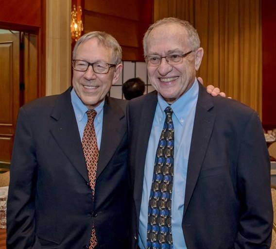 Alan Dershowitz at tribute to Cotler's advocacy