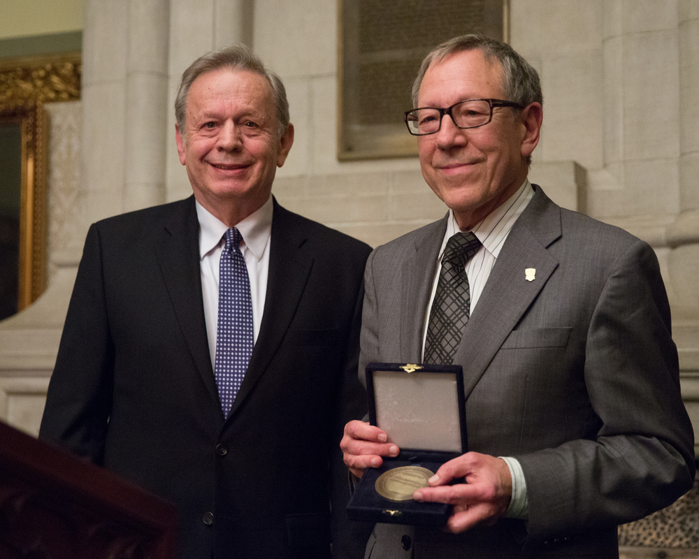 Irwin Cotler receives the Raoul Wallenberg Centennial Medal
