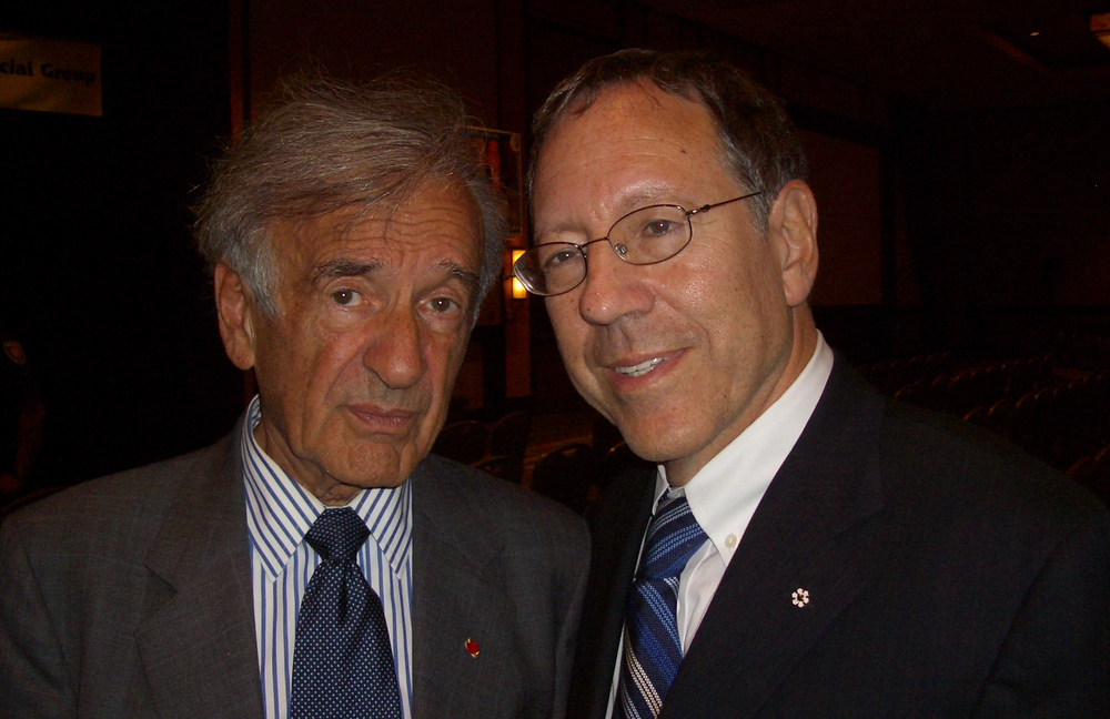 Centre Honourary Chair, the late Elie Wiesel