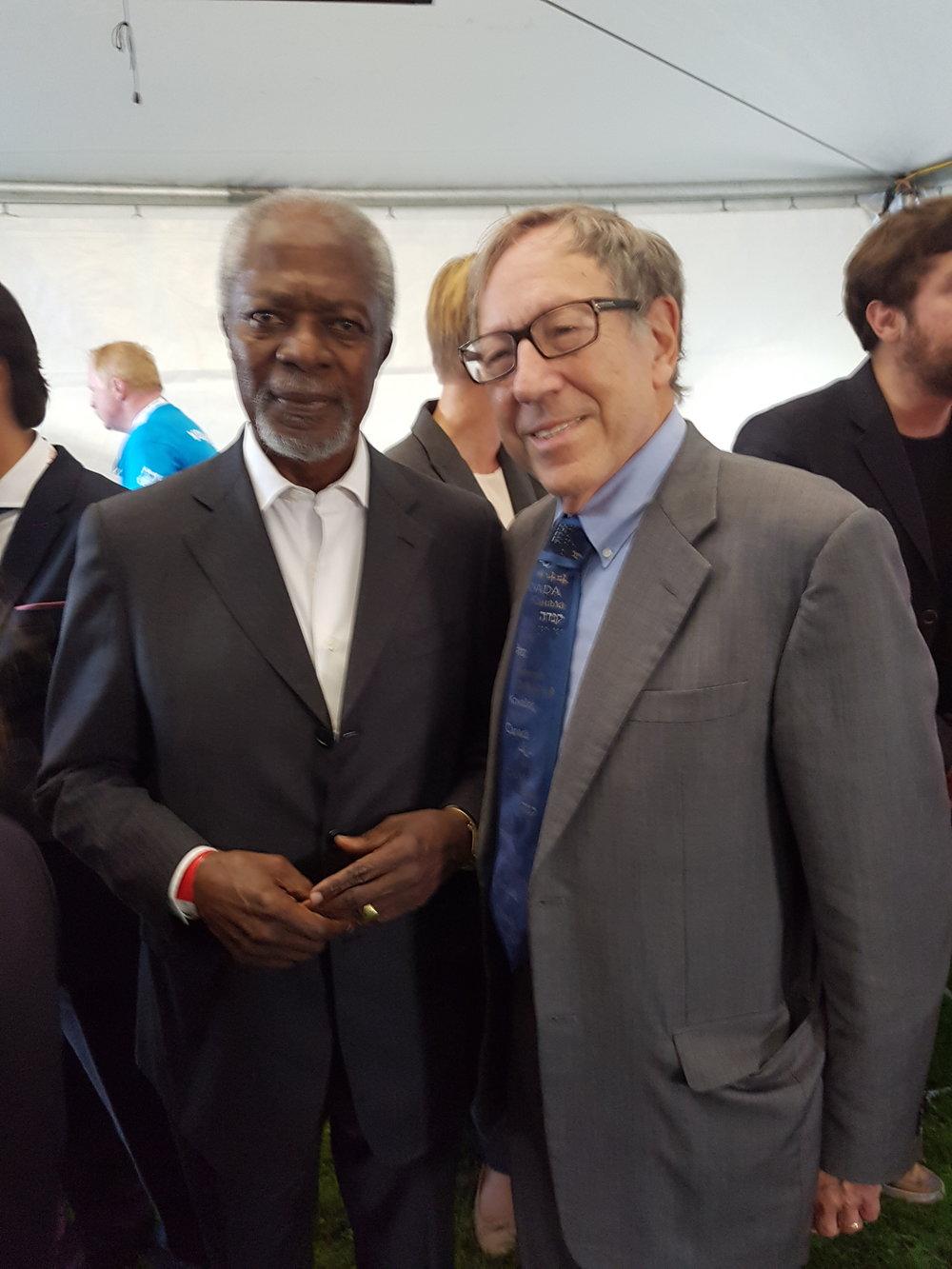 Kofi Annan, Nobel Laureate & UN Sec-Gen