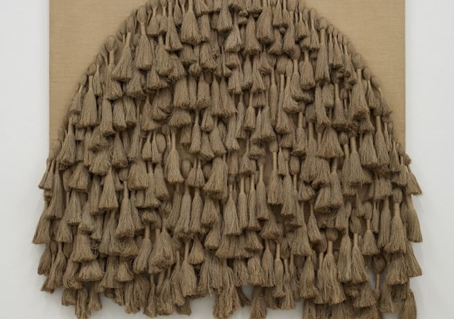 Sheila Hicks,  Tapestry , 1977, l inen and cotton