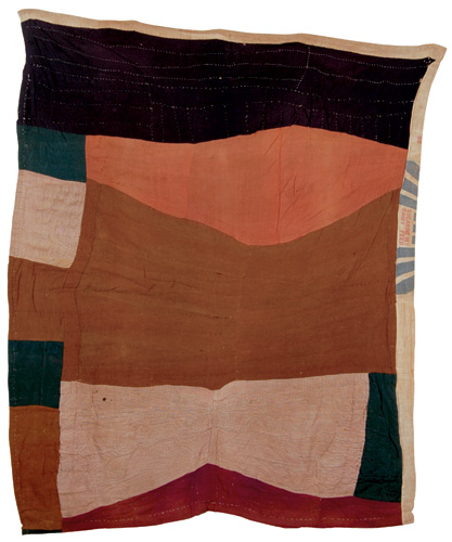 brown_FREE-FORM BLOCK QUILT, Western Tennessee, Circa 1930..jpg