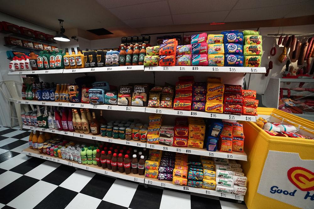 Shelves stocked with all your corner bodega staples. Photo: Jaime Rojo/Huffington Post