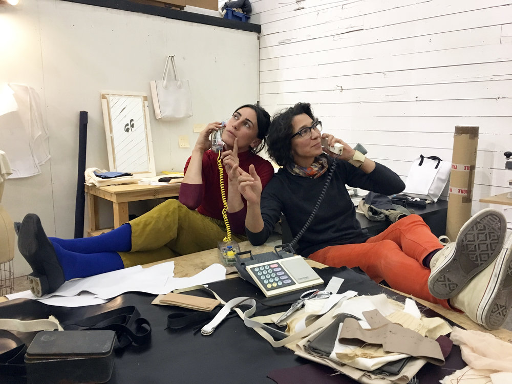 PGF's Britt Howard & Malia Jensen share a love for 1980s landlines