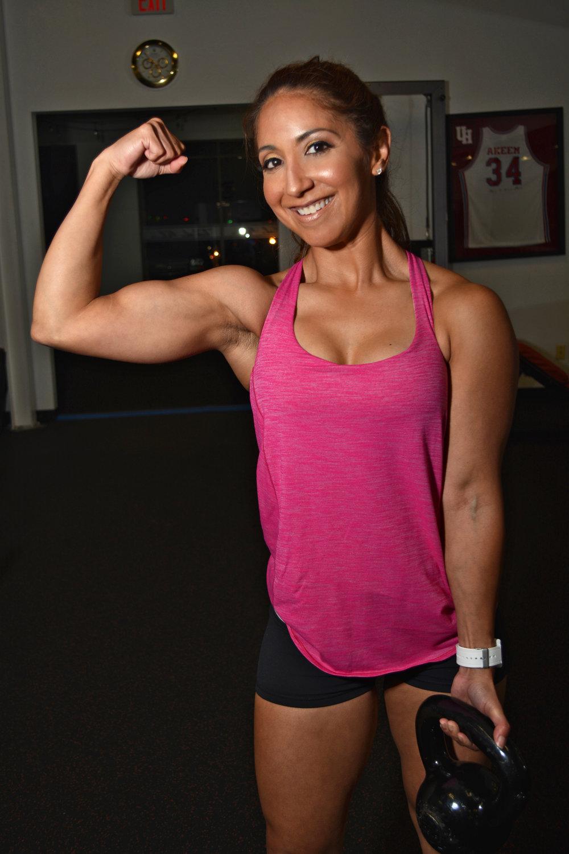 Sarah Cann Training Strong