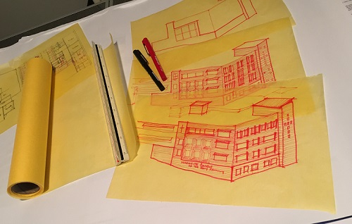 Leaf_Architecture-Sketching