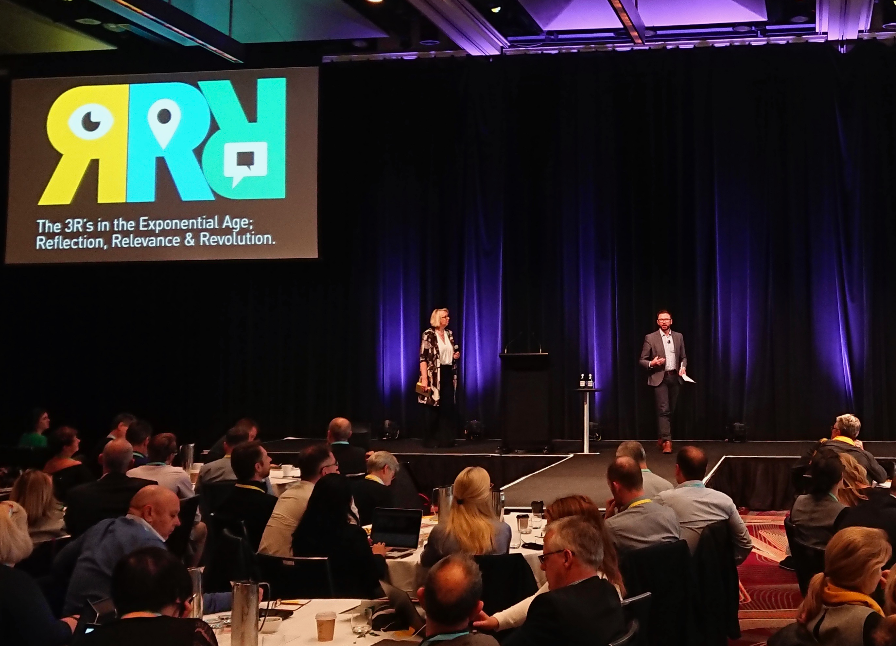 Daniel Smith & Anne Knock presenting the 3Rs and the NSW Story