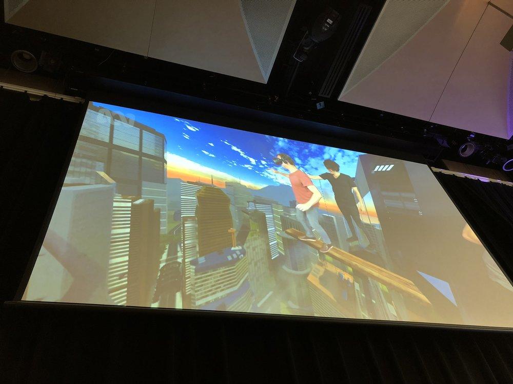Dr Jordan exploring VR and phobias
