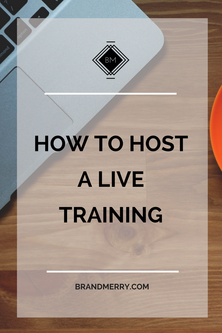 How to host a free live training to get your message heard and sell your products #webinar #livetraining #youtube