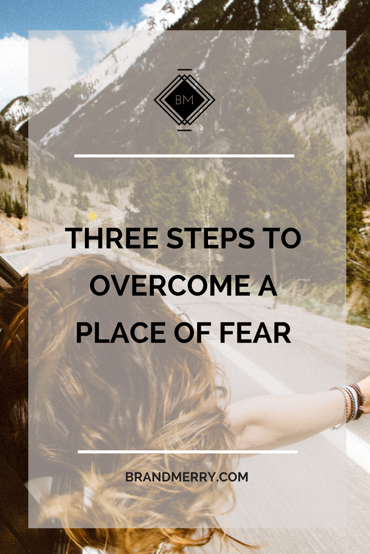 how to start overcoming your fears in three easy steps