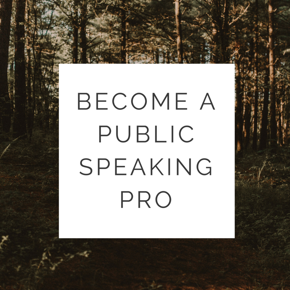 Learn How to Become A Public Speaking Pro