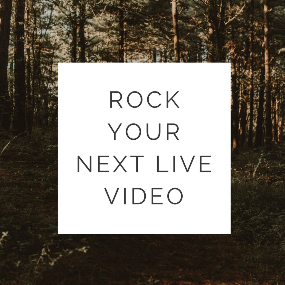 How to Rock Your Next Live Video Training