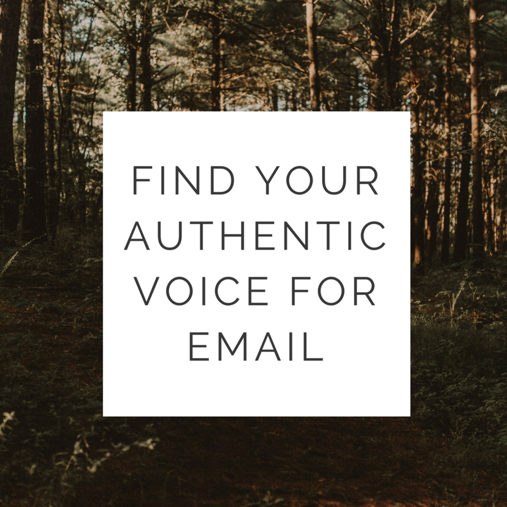Find Your Authentic Voice for Email Marketing training