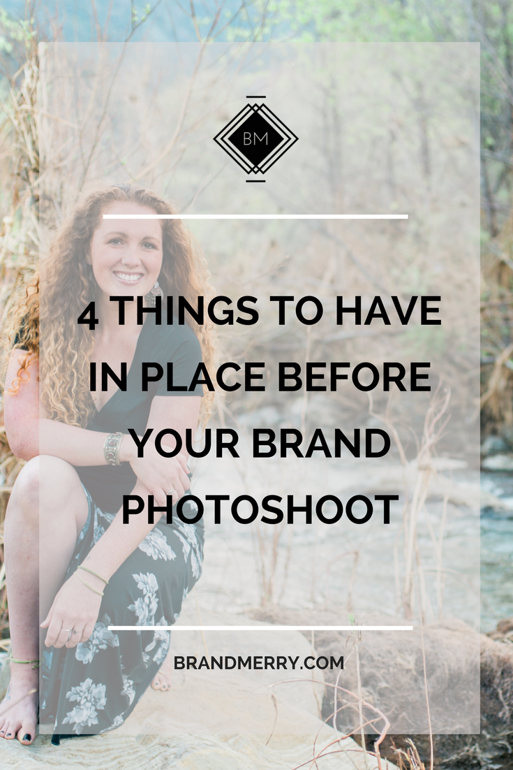 4 Things to Have in Place Before Your Brand Photoshoot
