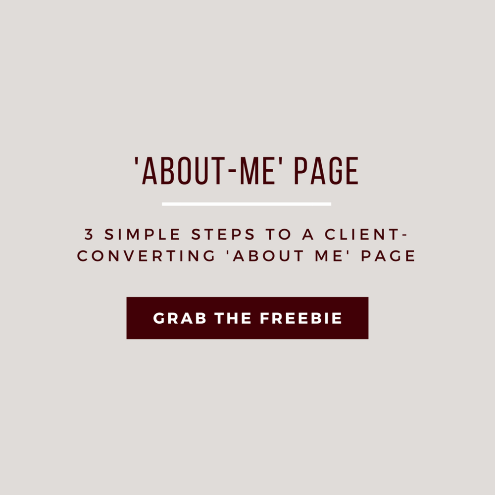 Write a Client-Converting About Me Page