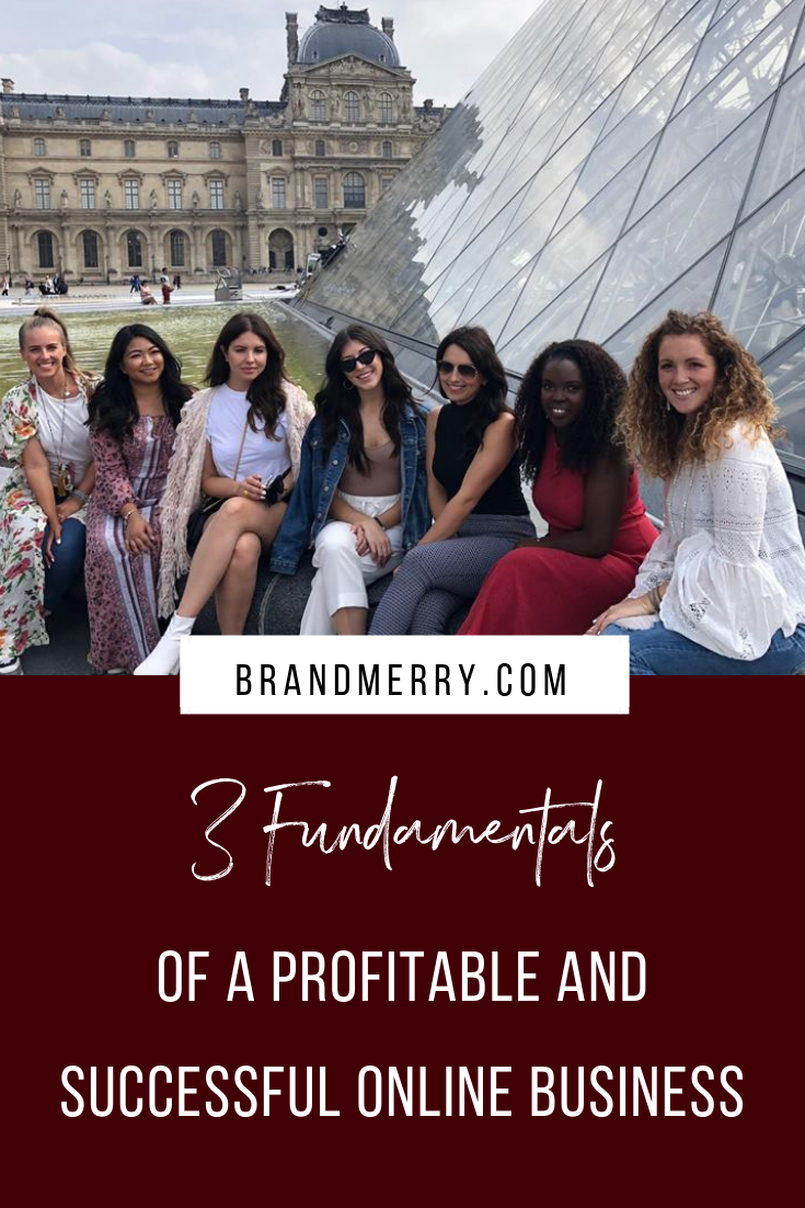 3 Fundamentals of a Profitable and Successful Online Business | Brandmerry Blog