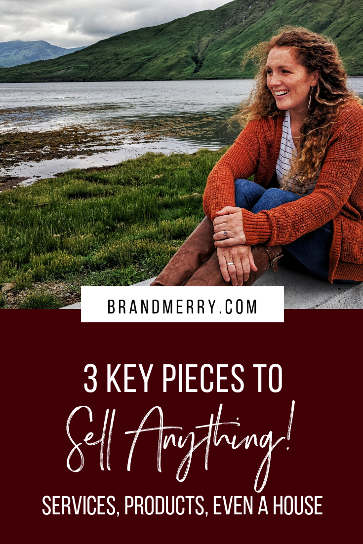Using the Brand Foundations, just 3 key pieces, I believe you can sell anything. I've used this framework to sell services, help my clients sell products and just recently sold our home in 48 hours. I'm sharing these 3 steps and how we used them in today's video.
