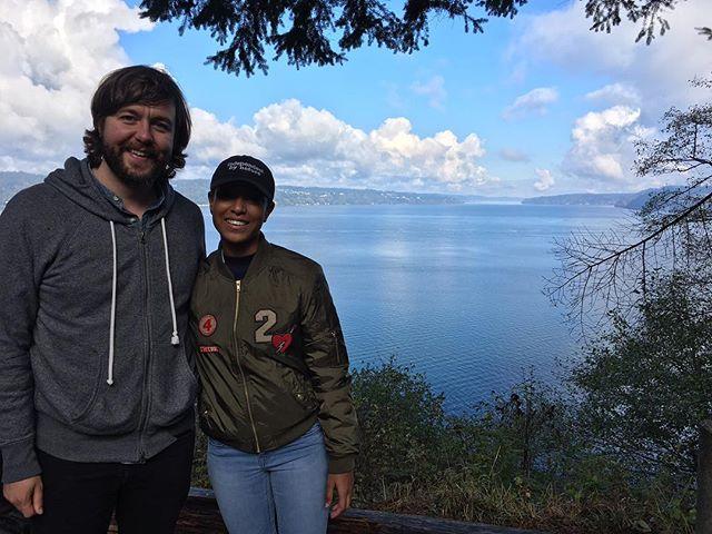 I, Destini directors in Tacoma, Washington for the Tacoma film festival 📽