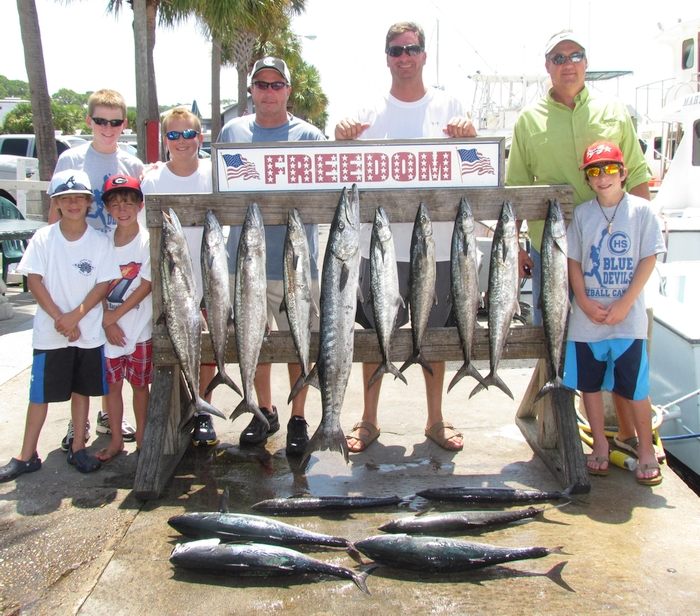 Come fish with the top Panama City Beach Fishing Charters! We are family friendly and will get you on the fish!
