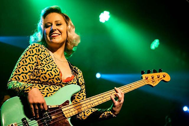 Green Dreams 💚 Pic by magic man @arcanitestudios #yeg #jazzbass #mercyfunk