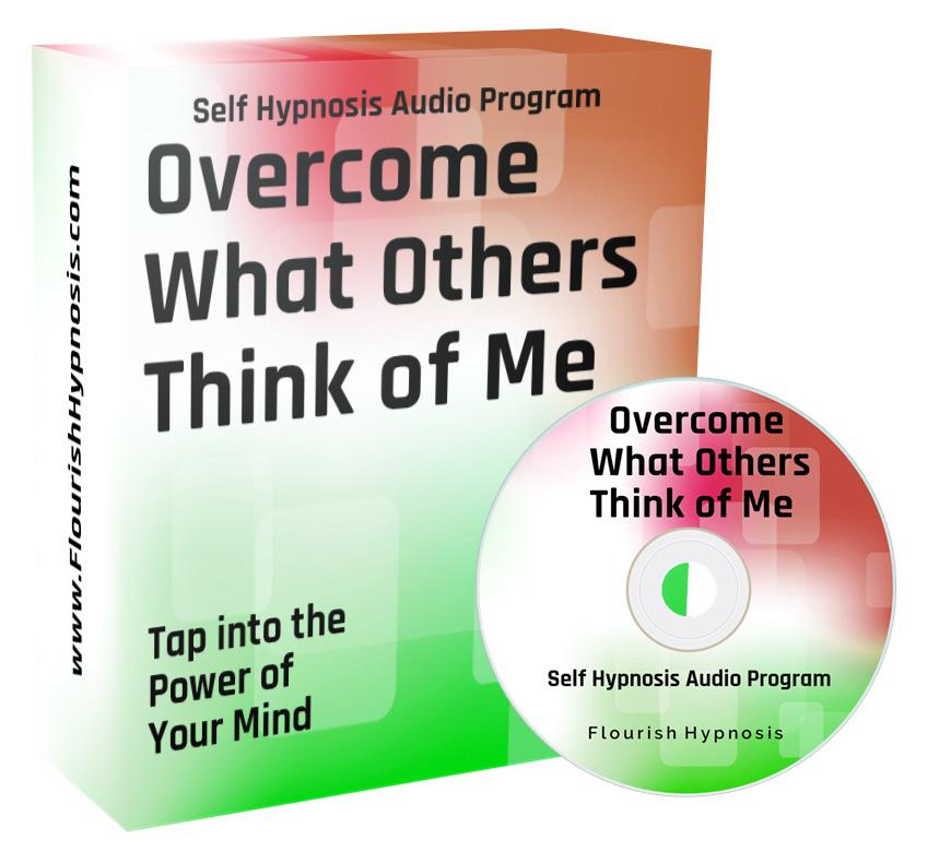 Overcome what others think of me