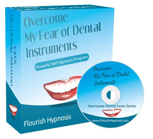 Overcome the fear of dental instruments