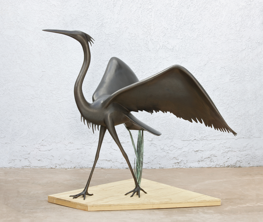 Large Winged Heron