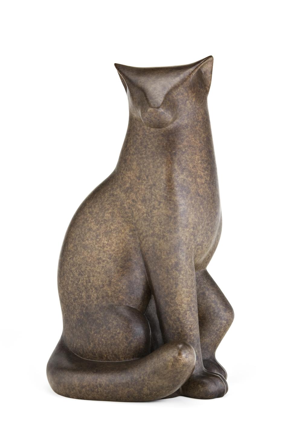 Bronze Marble Cat