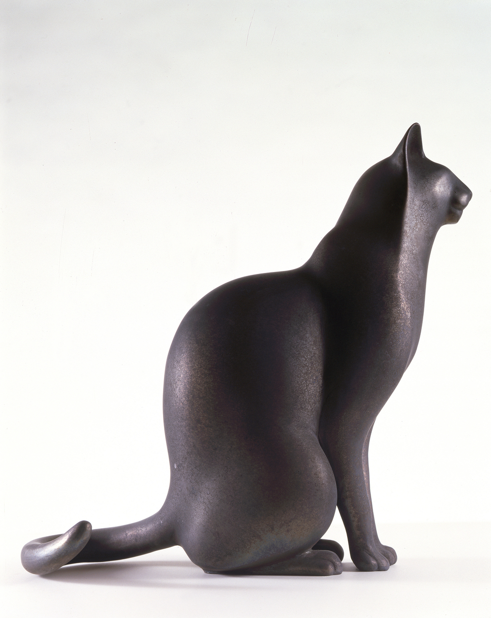 Bronze Sitting Cat