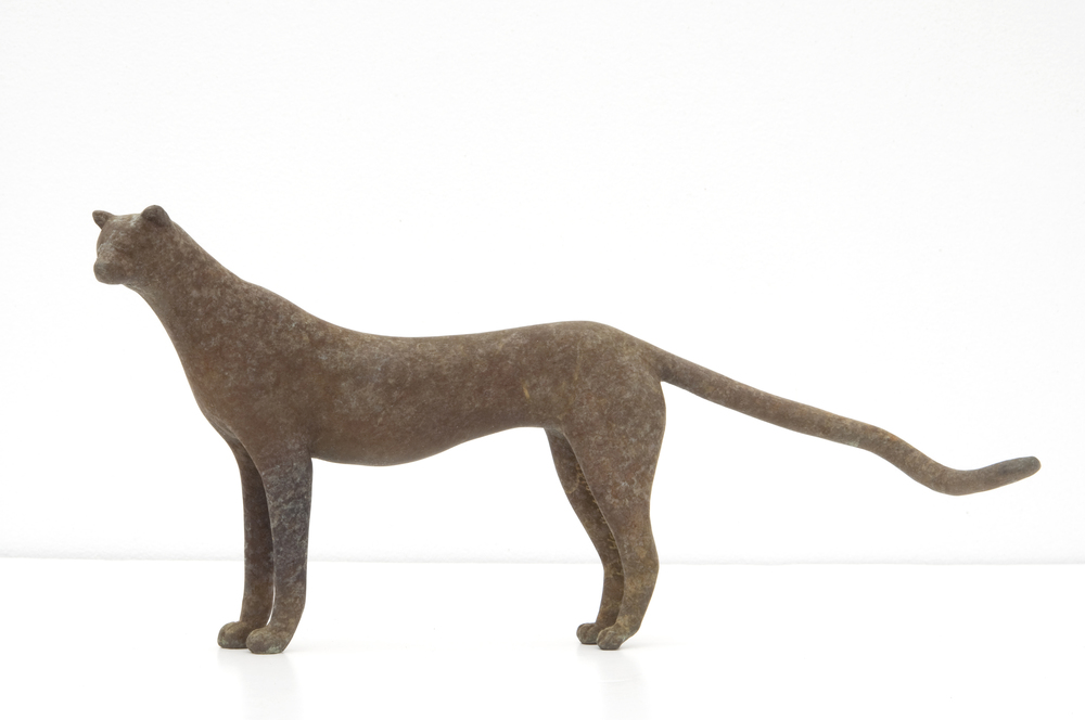 Standing Cheetah Maquette
