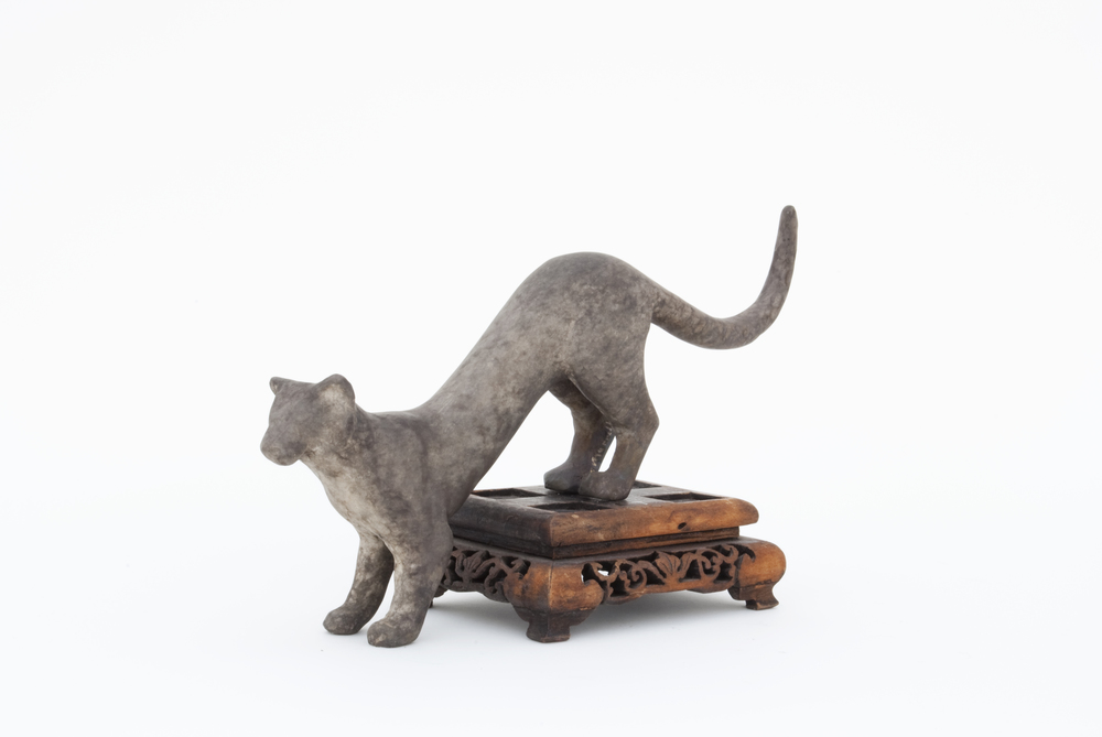 Cat Walking Downstairs Maquette