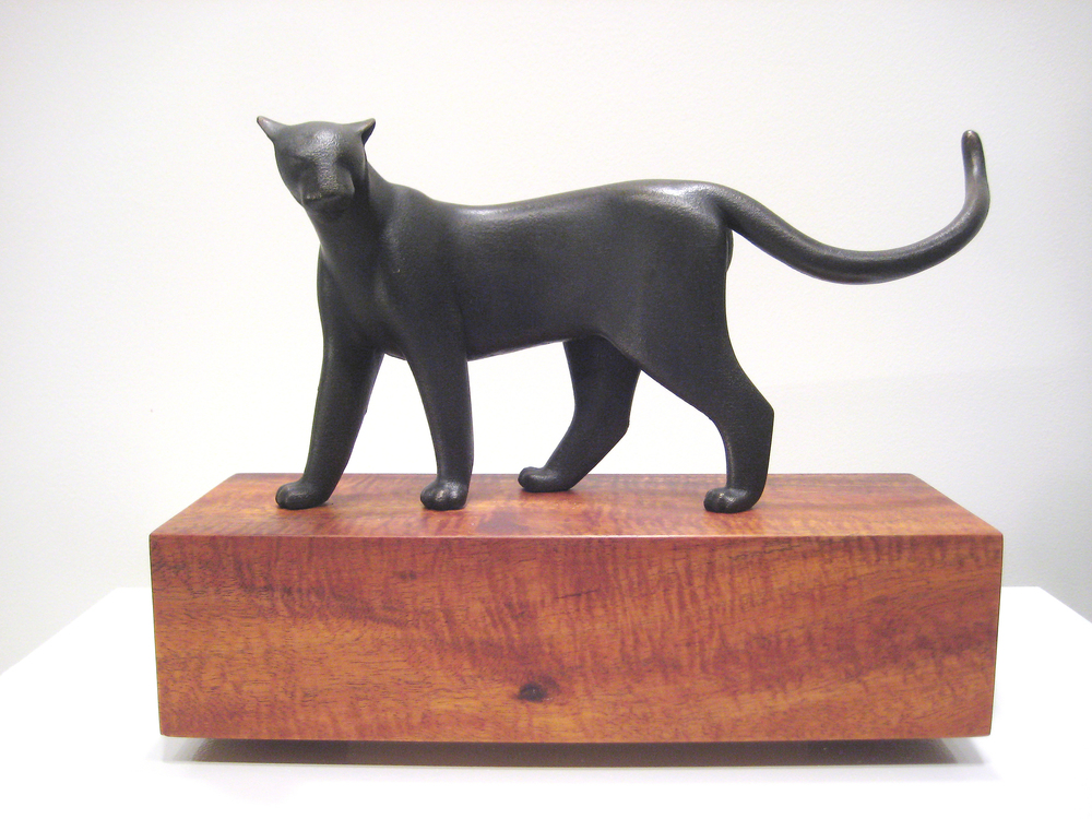 Standing Panther Maquette