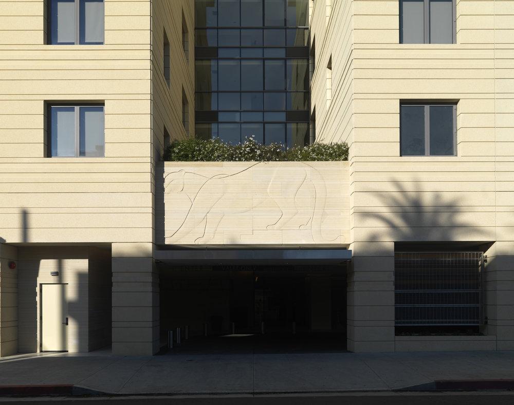 Euclid Ave Facade, Cougar Relief