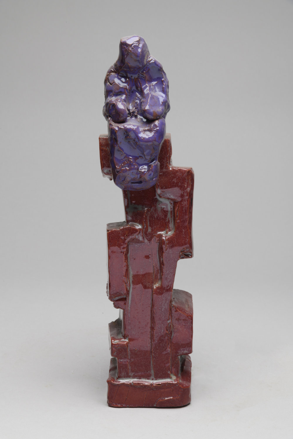 Purple Man on Red Base