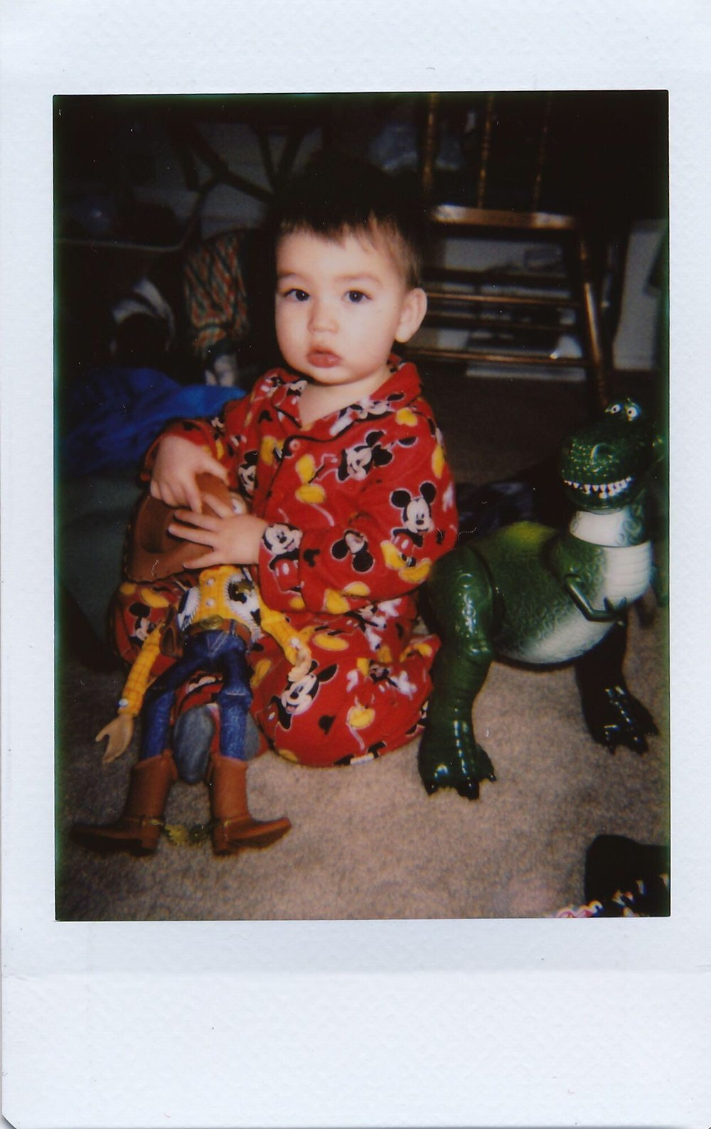 TOY STORY is Blake's absolute favorite. Aside from Mickey.