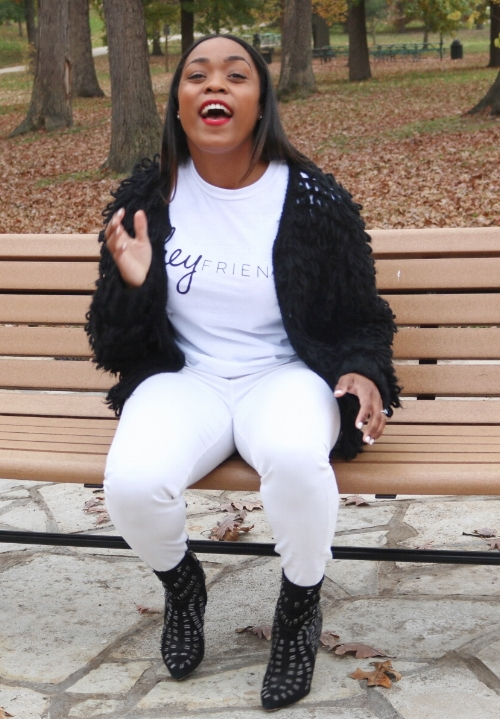 Keisha Mabry, author of Hey Friend