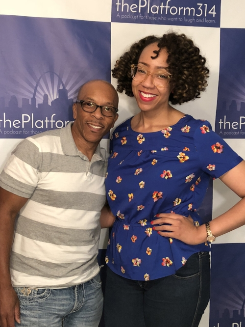 Owner of BKM Fitness - Briant K. Mitchell and Host Dr. Raegan Johnson