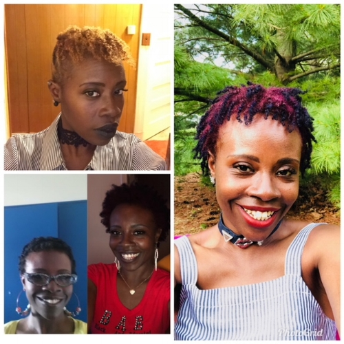 Grace's natural hair journey