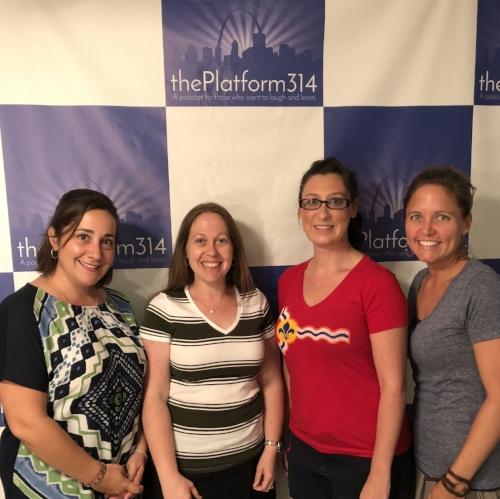 From L to R: Sara John, Kristina Walentik, Megan-Ellyia Green, and Meredith Rataj