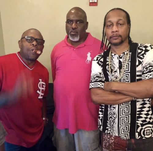 L to R: Scarface, Tojo, and DJ Quik (image courtesy of ToJo)