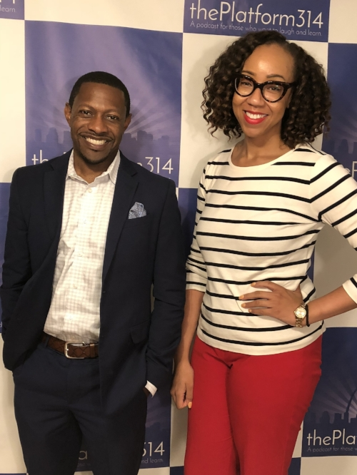 Andre Stevens of Daugherty Business Solutions and Host Dr. Raegan Johnson