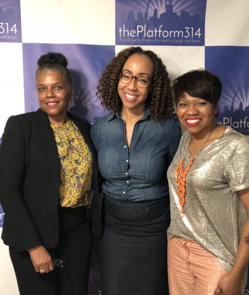 From L to R: Lori Jackson, Dr. Raegan Johnson, and NIcci Roach