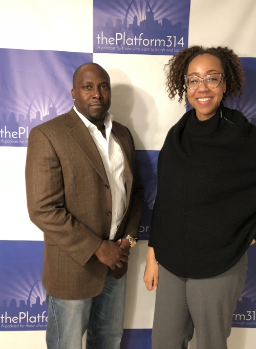 L to R: Accountant/Tax Professional Aaron Reeves, Host Dr. Raegan Johnson