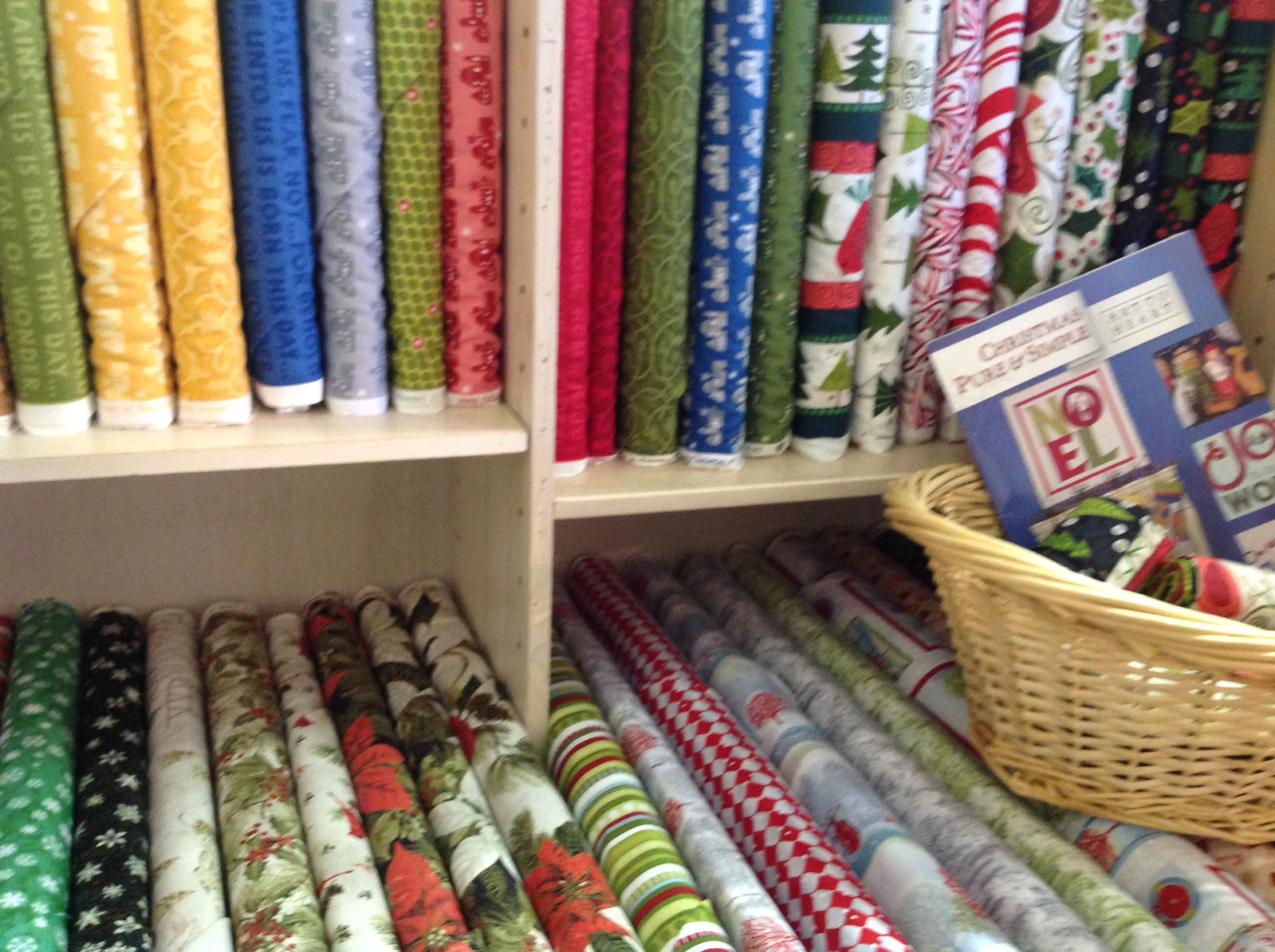 Some of the 40% off fabric.